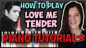 Love Me Tender - Presley