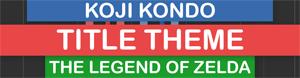 Koji Kondo - The Legend Of Zelda