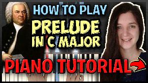 Prelude in C major - JS Bach