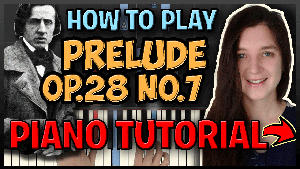 Prelude Op.28 No.7 - Chopin