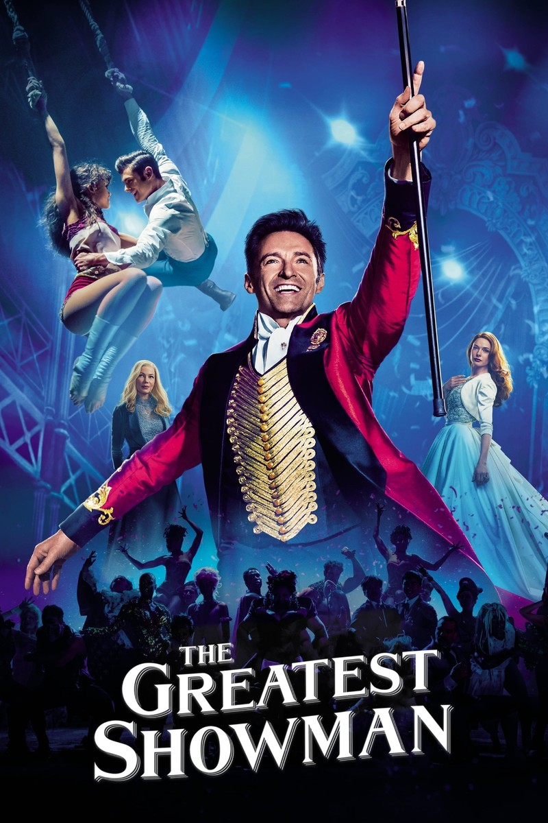 """Poster The Greatest Showman"""" width="""