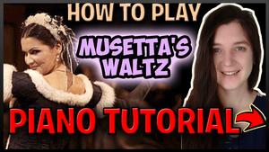 Musetta Waltz - Puccini
