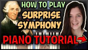 Surprise symphony Haydn