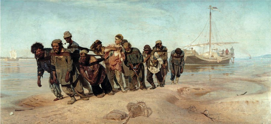 Poster Song Of The Volga Boatmen