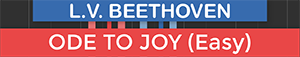 Ode To Joy - Beethoven - Symphony No 9